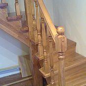 Для дома и интерьера ручной работы. Ярмарка Мастеров - ручная работа Лестница из массива. Handmade.