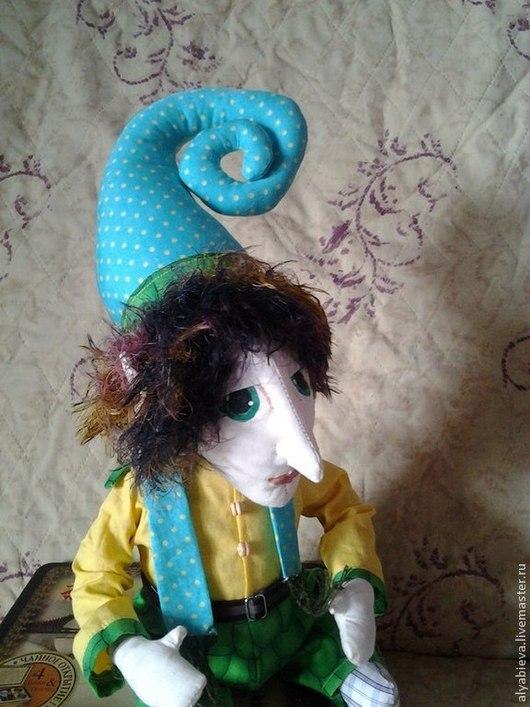 Коллекционные куклы ручной работы. Ярмарка Мастеров - ручная работа. Купить Эльф-троль)). Handmade. Разноцветный, домовой, кукла в подарок