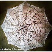 Свадебный салон ручной работы. Ярмарка Мастеров - ручная работа Ажурный  свадебный зонт. Handmade.