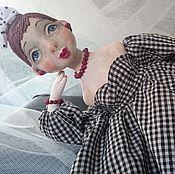 Куклы и игрушки ручной работы. Ярмарка Мастеров - ручная работа Кукла из папье маше Шурочка.... Handmade.