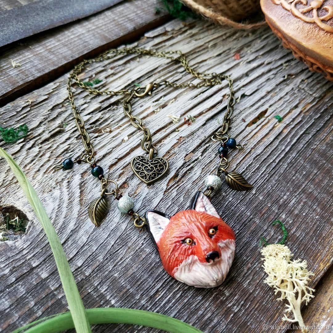 Fox pendant (pendant Fox jewelry Fox, a gift from a Fox), Pendants, Barnaul,  Фото №1