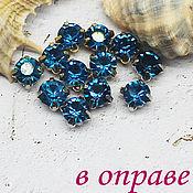 Материалы для творчества handmade. Livemaster - original item 6 mm Zircon rhinestones. Handmade.