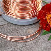 Материалы для творчества handmade. Livemaster - original item 1,2 mm; copper wire. Handmade.
