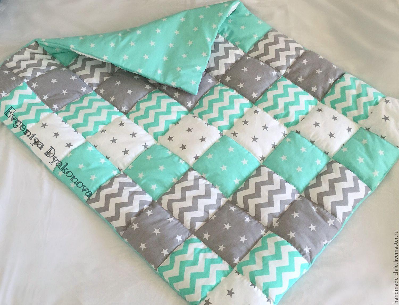 Детское объемное одеяло своими руками