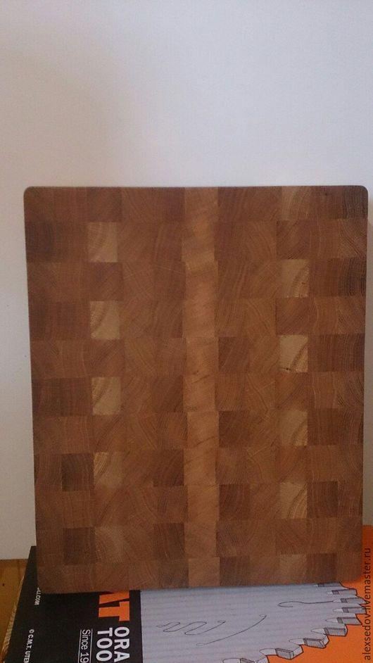 Кухня ручной работы. Ярмарка Мастеров - ручная работа. Купить Торцевая разделочная доска из натурального дерева. Handmade. Торцевая доска