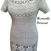 Одежда ручной работы. Ярмарка Мастеров - ручная работа Туника из хб ниточек. Handmade.