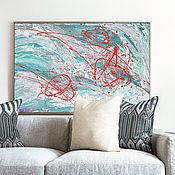 Картины и панно handmade. Livemaster - original item Painting abstraction buy, Siderum. Handmade.