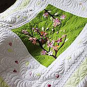 """Для дома и интерьера ручной работы. Ярмарка Мастеров - ручная работа Одеяло """"Сакура"""". Handmade."""
