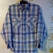Одежда ручной работы. Ярмарка Мастеров - ручная работа Рубаха мужская из натурального льна. Handmade.