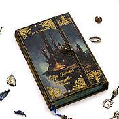 """Подарки к праздникам ручной работы. Ярмарка Мастеров - ручная работа """"Гарри Поттер и философский камень"""" - книга коллекционная. Handmade."""