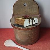 """Jars handmade. Livemaster - original item """"Французские рецепты. Питивье"""" Солонка. Handmade."""
