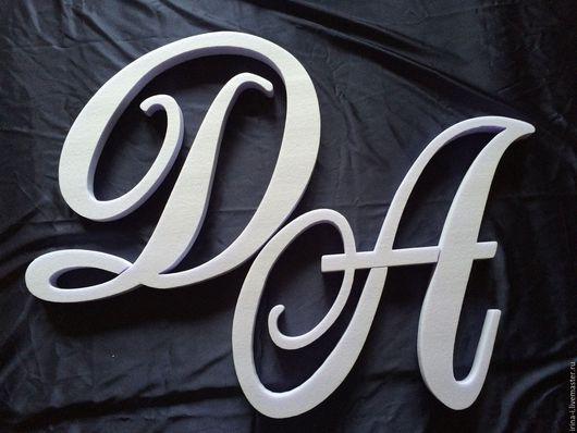Другие виды рукоделия ручной работы. Ярмарка Мастеров - ручная работа. Купить Слова буквы из пенопласта. Handmade. Пенополистирол, буквы