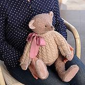 Куклы и игрушки ручной работы. Ярмарка Мастеров - ручная работа Мишка Тедди Хлоя 50 см, мишка из мохера, авторский мишка тедди. Handmade.