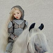 Куклы и игрушки handmade. Livemaster - original item porcelain. Articulated doll Joan of Arc. Handmade.