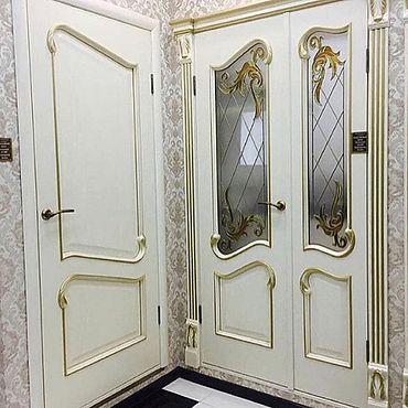 Для дома и интерьера ручной работы. Ярмарка Мастеров - ручная работа Межкомнатные двери люкс. Handmade.