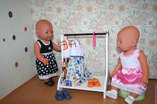 Одежда для кукол ручной работы. Ярмарка Мастеров - ручная работа. Купить Платье на лето (в ассортименте). Handmade. Беби бон