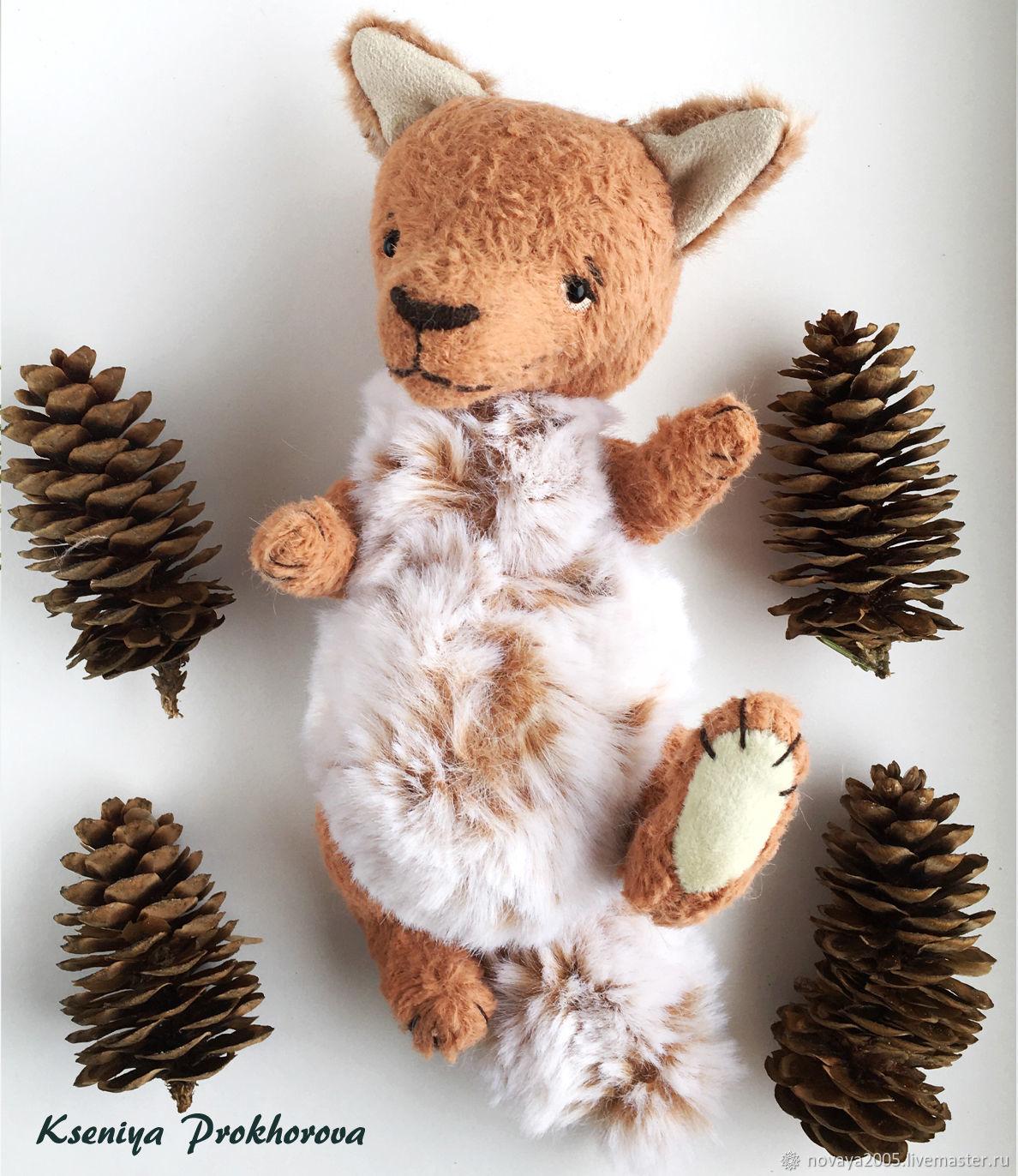 Игрушка лиса, Тедди Зверята, Ханты-Мансийск,  Фото №1