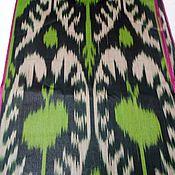 Материалы для творчества handmade. Livemaster - original item Uzbek cotton ikat hand-woven Pomegranate. F006. Handmade.