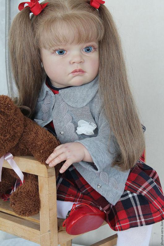 Куклы-младенцы и reborn ручной работы. Ярмарка Мастеров - ручная работа. Купить Кукла реборн Татьяна. Handmade. Ярко-красный