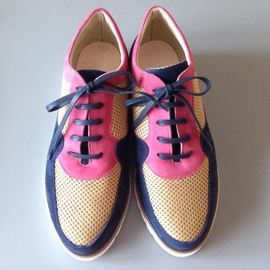 Обувь ручной работы. Ярмарка Мастеров - ручная работа. Купить Кроссовки Say. Handmade. Кроссовки, кожа натуральная