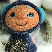 """Куклы и игрушки ручной работы. Ярмарка Мастеров - ручная работа Войлочная игрушка """"Кодама-девочка"""". Handmade."""