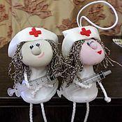Fun handmade. Livemaster - original item doll souvenir. Handmade.