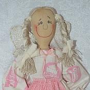 Куклы и игрушки ручной работы. Ярмарка Мастеров - ручная работа Мечтательница Оленька. Handmade.