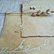 Канцелярские товары handmade. Livemaster - original item Paper manual casting Polina, handmade paper. Handmade.
