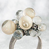 Rings handmade. Livemaster - original item Ring the Day of the full moon. Handmade.