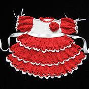 Работы для детей, ручной работы. Ярмарка Мастеров - ручная работа Платье для девочки Кокетка 1. Handmade.