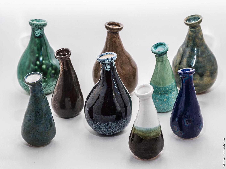 Комплект декоративных вазочек