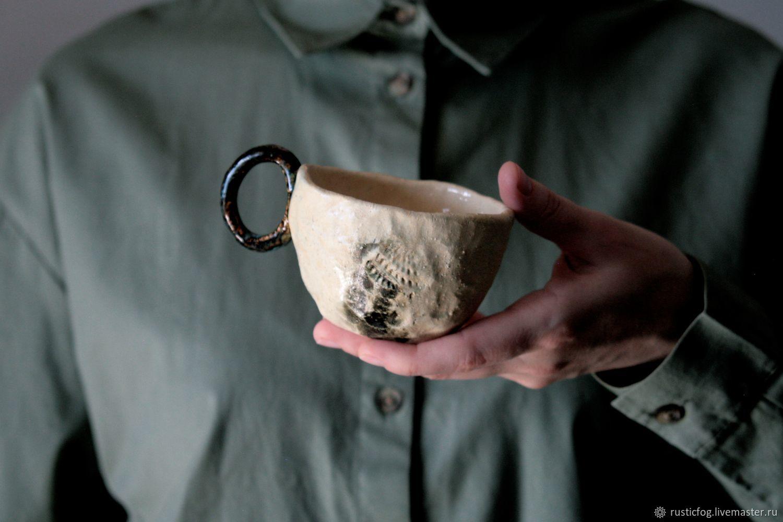 Чашка керамическая River Stone, Кружки и чашки, Москва,  Фото №1