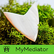 Музыкальные инструменты handmade. Livemaster - original item The mediator of pearl: Arrow. Handmade.