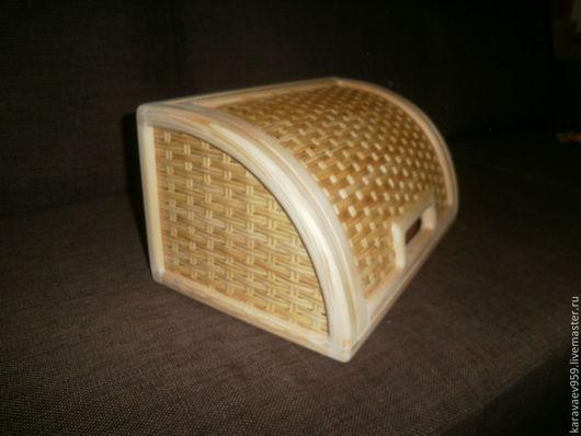 Кухня ручной работы. Ярмарка Мастеров - ручная работа. Купить Хлебница. Handmade. Хлебница, бежевый, шкатулка, дизайн, дерево