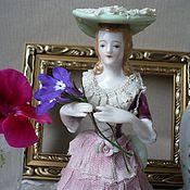 Статуэтка антикварная / винтажная / старинная, Фарфор. Германия