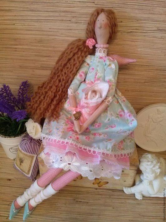 Куклы Тильды ручной работы. Ярмарка Мастеров - ручная работа. Купить Кукла тильда нежный ангел материнства фея. Handmade.