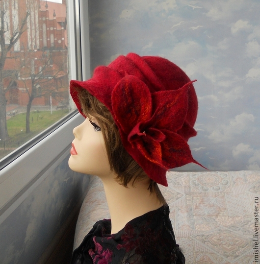"""Шляпы ручной работы. Ярмарка Мастеров - ручная работа. Купить шляпка """"Александра"""". Handmade. Абстрактный, женские шляпы"""