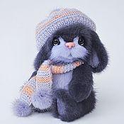Куклы и игрушки handmade. Livemaster - original item Hare Robin. Toy fur.. Handmade.