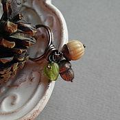 """Украшения ручной работы. Ярмарка Мастеров - ручная работа """"Лесные находки"""" кольцо. Handmade."""