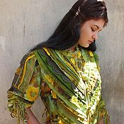 Одежда handmade. Livemaster - original item Boho tunic or dress