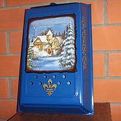 Для дома и интерьера ручной работы. Ярмарка Мастеров - ручная работа Почтовый ящик пейзажный. Handmade.