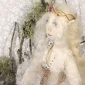 Куклы и игрушки ручной работы. Ярмарка Мастеров - ручная работа Кукла эльфийка. Коллекционная текстильная кукла эльф.. Handmade.