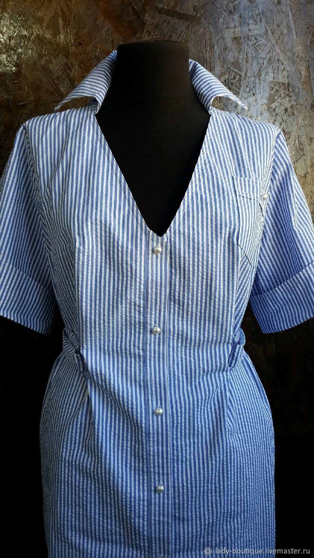 Платье-рубашка на лето, Сарафаны, Оренбург,  Фото №1