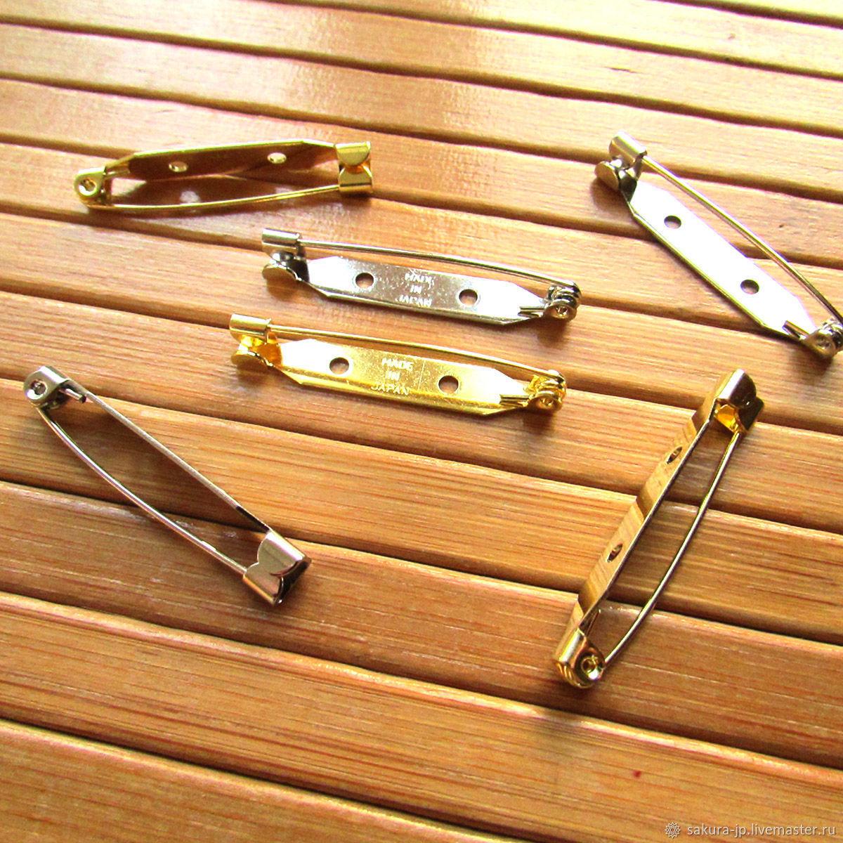 Japanese 35 mm pins, brooches. SAKURA - materials for citadele. Fair Masters.
