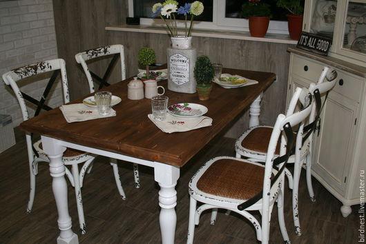 Стол из массива сосны. Принимаем заказы на изготовление предметов мебели из НАТУРАЛЬНОГО дерева. С условиями покупки и размещения заказа можно ознакомиться в правилах магазина (слева на панели)