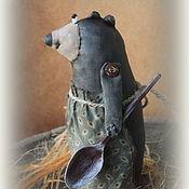 Куклы и игрушки handmade. Livemaster - original item Bear Manya textile doll. Handmade.
