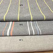 Материалы для творчества handmade. Livemaster - original item Linen fabric for bedding, width 220-260 cm. Handmade.