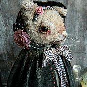 Куклы и игрушки ручной работы. Ярмарка Мастеров - ручная работа Кошка Камилла Стрендж. Handmade.
