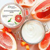 Косметика ручной работы handmade. Livemaster - original item Anti-cellulite body cream with caffeine and green tea. Handmade.