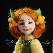 Куклы и игрушки ручной работы. Ярмарка Мастеров - ручная работа Авторская войлочная кукла Мимоза. Handmade.